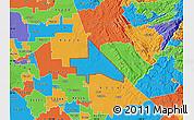 Political Map of ZIP code 95230