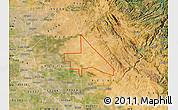 Satellite Map of ZIP code 95230