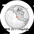 Outline Map of ZIP Code 95230