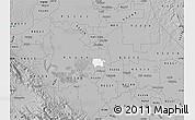 Gray Map of ZIP code 95231