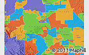 Political Map of ZIP code 95231