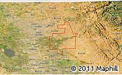 Satellite 3D Map of ZIP code 95236
