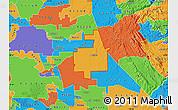 Political Map of ZIP code 95236