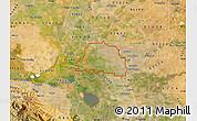 Satellite Map of ZIP code 95242