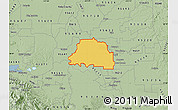 Savanna Style Map of ZIP code 95242