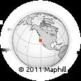 Outline Map of ZIP Code 95242