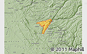 Savanna Style Map of ZIP code 95247