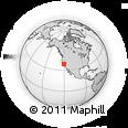 Outline Map of ZIP Code 95247