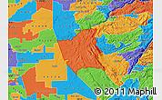 Political Map of ZIP code 95252