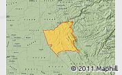 Savanna Style Map of ZIP code 95252