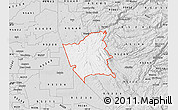 Silver Style Map of ZIP code 95252
