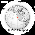 Outline Map of ZIP Code 95252