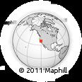 Outline Map of ZIP Code 95257