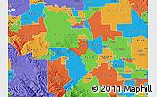 Political Map of ZIP code 95330