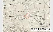 Shaded Relief Map of ZIP code 95330