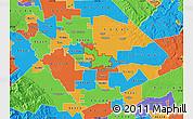 Political Map of ZIP code 95357