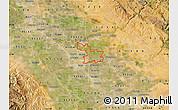 Satellite Map of ZIP code 95357