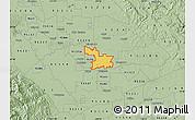 Savanna Style Map of ZIP code 95357