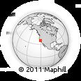 Outline Map of ZIP Code 95357
