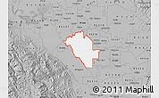 Gray Map of ZIP code 95358
