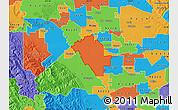 Political Map of ZIP code 95358