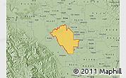 Savanna Style Map of ZIP code 95358