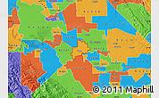 Political Map of ZIP code 95366
