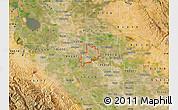 Satellite Map of ZIP code 95366