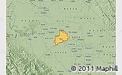 Savanna Style Map of ZIP code 95366
