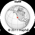Outline Map of ZIP Code 95366