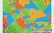 Political Map of ZIP code 95367