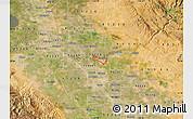 Satellite Map of ZIP code 95367