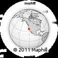Outline Map of ZIP Code 95367