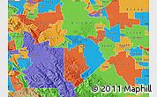 Political Map of ZIP code 95376