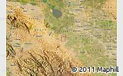 Satellite Map of ZIP code 95376