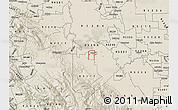 Shaded Relief Map of ZIP code 95376