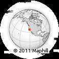 Outline Map of ZIP Code 95376