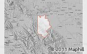 Gray Map of ZIP code 95377