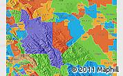 Political Map of ZIP code 95377