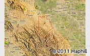 Satellite Map of ZIP code 95377