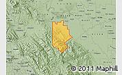 Savanna Style Map of ZIP code 95377