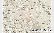 Shaded Relief Map of ZIP code 95377
