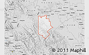 Silver Style Map of ZIP code 95377