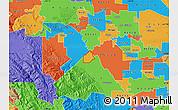 Political Map of ZIP code 95385