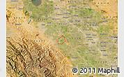 Satellite Map of ZIP code 95385