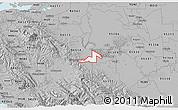 Gray 3D Map of ZIP code 95391