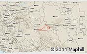 Shaded Relief 3D Map of ZIP code 95391