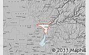 Gray Map of ZIP code 95603
