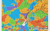 Political Map of ZIP code 95603