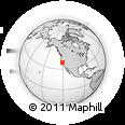 Outline Map of ZIP Code 95603
